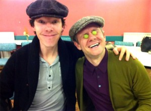 Benedict-Cumberbatch-Martin-Freeman-sherlock-series-3-readthrough