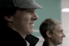 Sherlock: The Reichenbach Fall Teasers